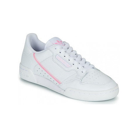 Adidas CONTINENTAL 80 W women's Shoes (Trainers) in White