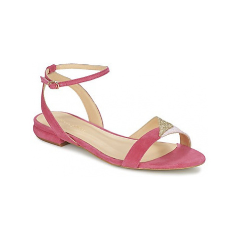 Mellow Yellow VELANTINE women's Sandals in Pink