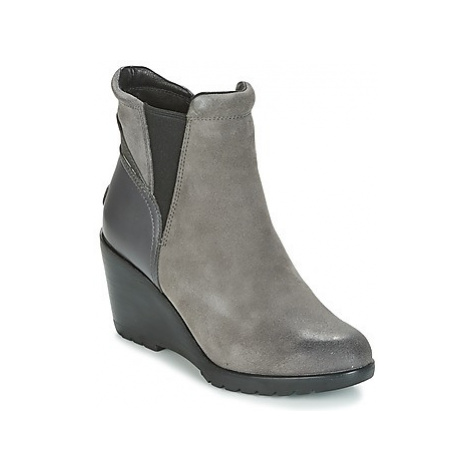 Sorel After Hours Chelsea women's Low Ankle Boots in Grey