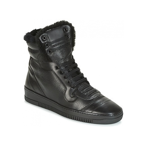 John Galliano FANA men's Shoes (High-top Trainers) in Black
