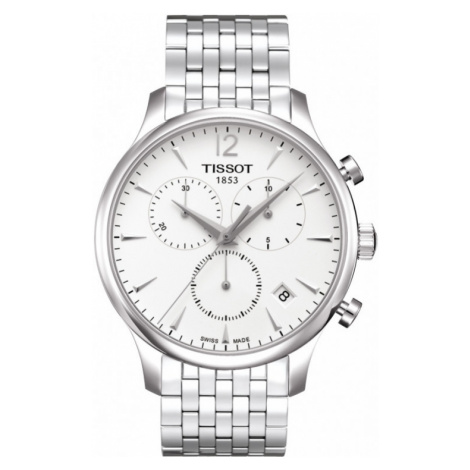Mens Tissot Tradition Chronograph Watch T0636171103700
