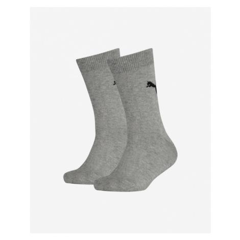 Puma Easy Rider Socks 2 pairs Kids Grey