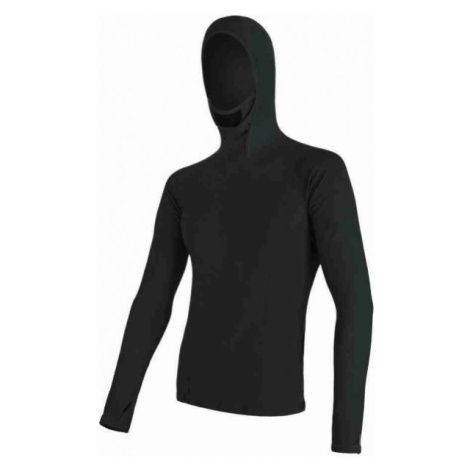 Sensor MERINO DF black - Men's T-shirt
