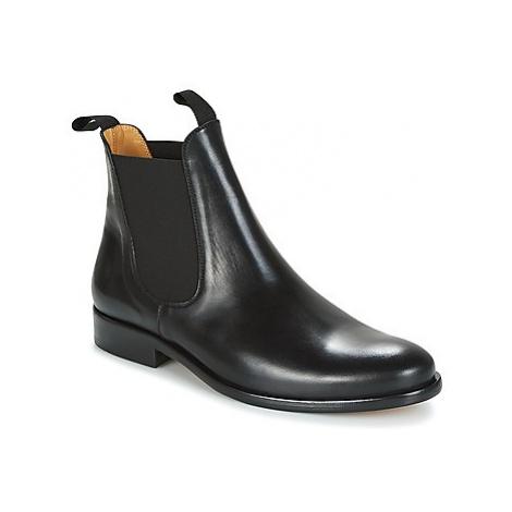 Brett Sons LOUVAL men's Mid Boots in Black