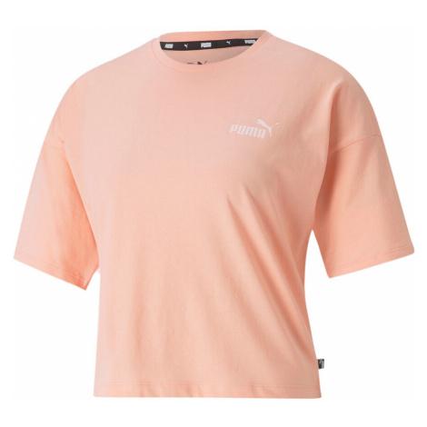 Essential Cropped Small Logo T-Shirt Women Puma