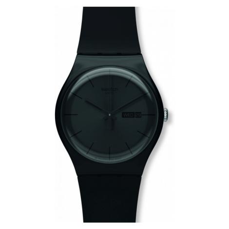 Unisex Swatch Black Rebel Watch SUOB702