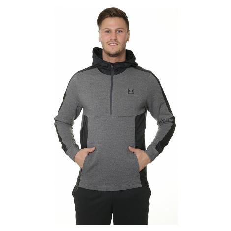 sweatshirt Under Armour Threadborne Terry - 019/Charcoal Medium Heather/Black