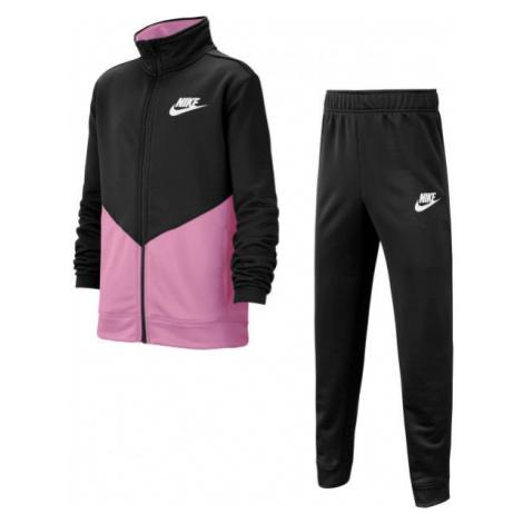 Nike NSW CORE TRK STE G black - Girls' tracksuit