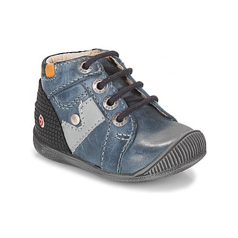 GBB REGIS boys's Children's Shoes (High-top Trainers) in Blue