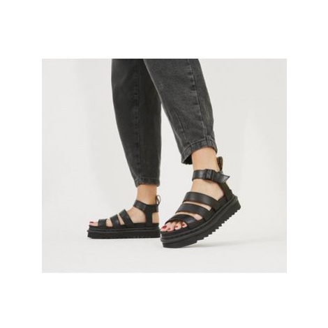 Dr. Martens Blaire Sandal BLACK BRANDO Dr Martens