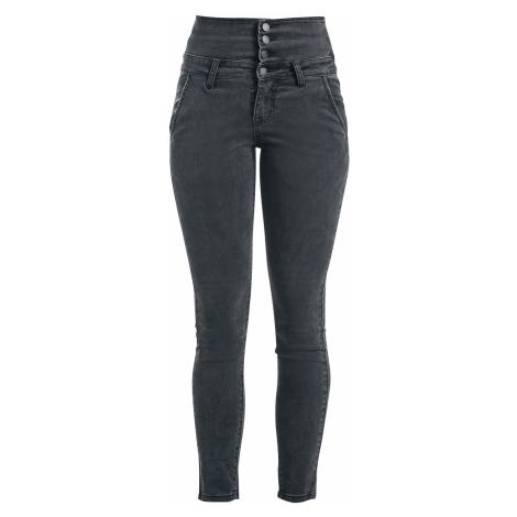 Forplay - High Waist Denim Jeans - Girls jeans - grey