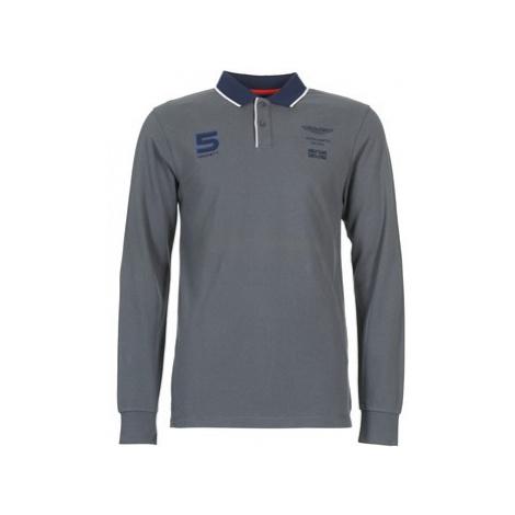 Hackett DOUBILO men's Polo shirt in Grey