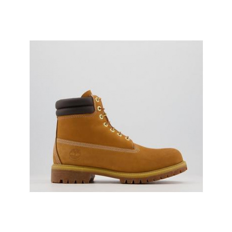 Timberland 6 Inch Double Collar WHEAT NUBUCK