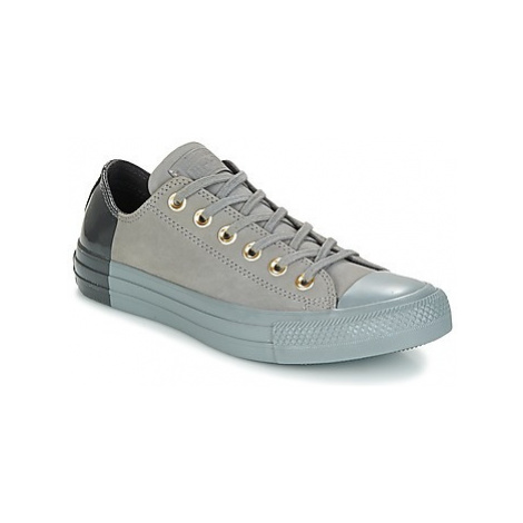 Converse Chuck Taylor All Star Ox Blocked Nubuck women's Shoes (Trainers) in Grey