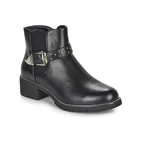 Moony Mood FAVELLE women's Mid Boots in Black