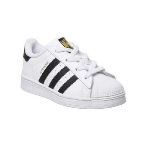 Adidas Superstar Infant 2-9 CORE BLACK WHITE