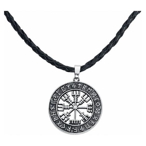 URBANTIMBER Vegvisir Necklace silver coloured