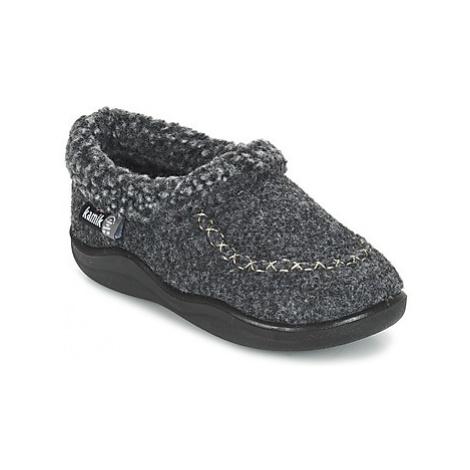 KAMIK COZYCABIN2 girls's Children's Slippers in Grey