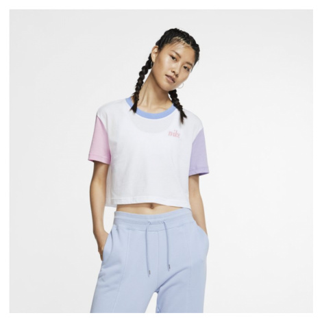 Nike Sportswear Women's Cropped T-Shirt - White