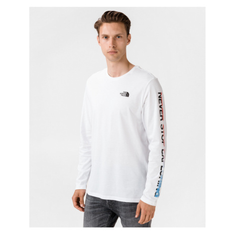 The North Face Graphic Flow T-shirt White