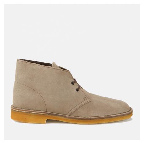 Clarks Originals Men's Desert Boots - Wolf Suede - UK