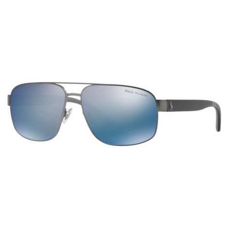 Polo Ralph Lauren Man PH3112 - Frame color: Gunmetal, Lens color: Blue, Size 62-14/145