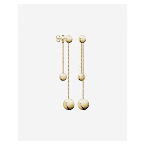 Calvin Klein Unpaired Earrings Gold