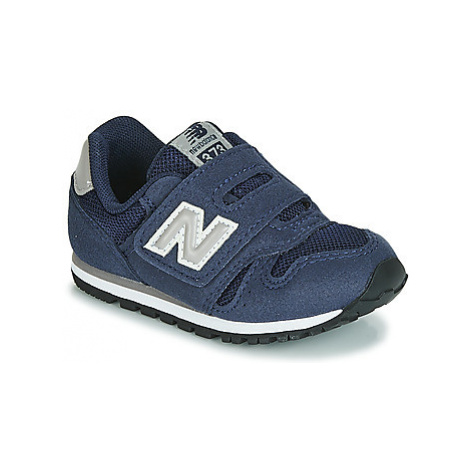New Balance IV373 girls's Children's Shoes (Trainers) in Blue