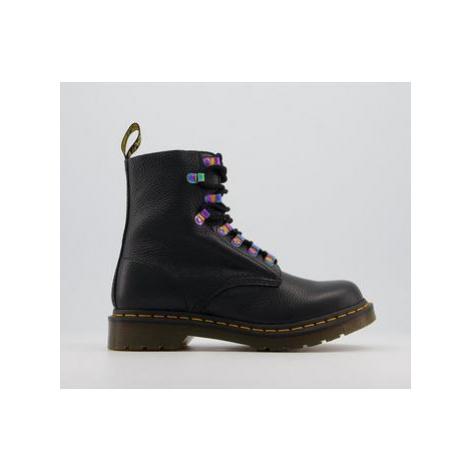 Dr. Martens 1460 Iridescent Hardware Boots BLACK Dr Martens