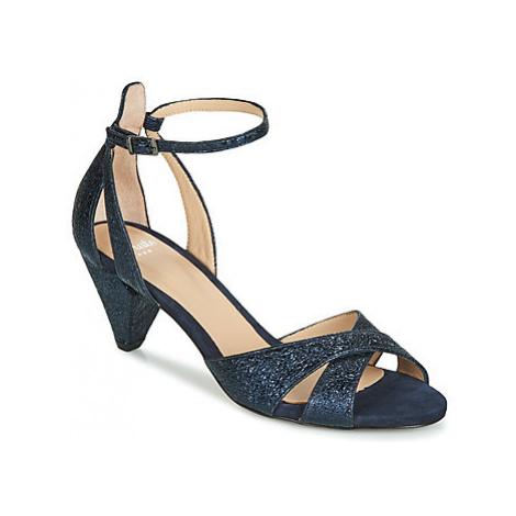 Perlato VELVI women's Sandals in Blue