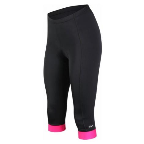 Etape SARA 3/4 PANTS W black - Women's cycling tights