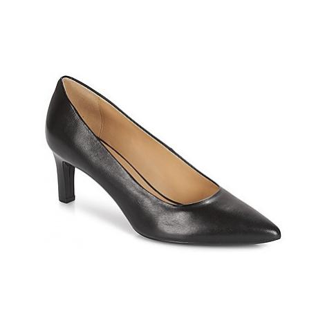 Geox D BIBBIANA women's Court Shoes in Black