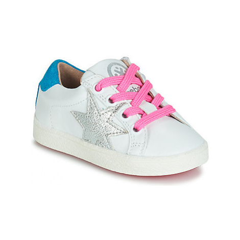 Acebo's STARWAY girls's Children's Shoes (Trainers) in White
