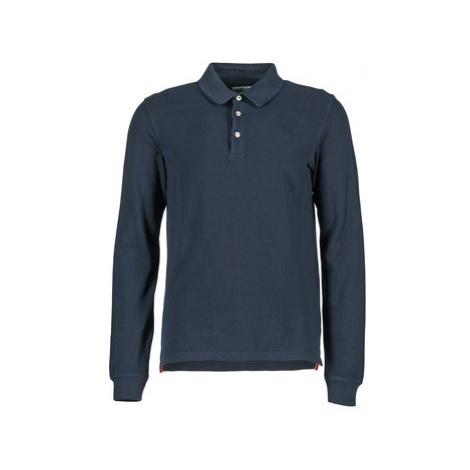 Aigle BORTON men's Polo shirt in Blue