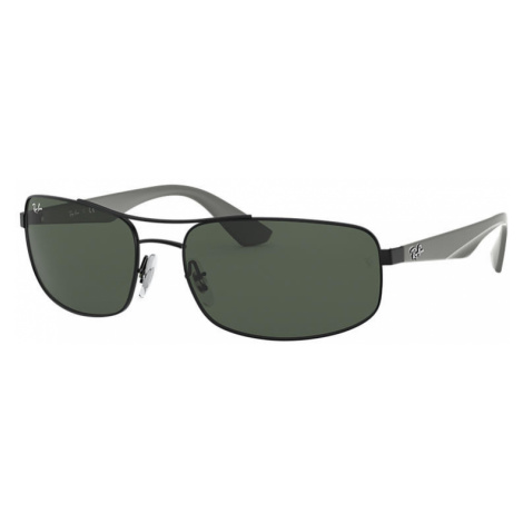 Ray-Ban Rb3527 Man Sunglasses Lenses: Green, Frame: Grey - RB3527 006/71 61-17