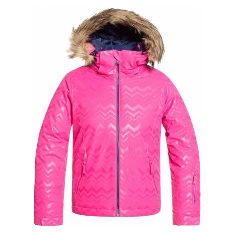 jacket Roxy Jet Ski Solid - MML3/Beetroot Pink Aztecspiritembos - girl´s