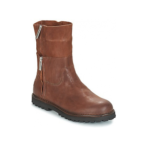 Shabbies HADATA women's Mid Boots in Brown