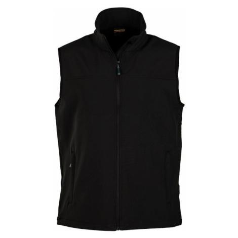 Hi-Tec LUMAN SOFTSHELL VEST black - Men's softshell vest