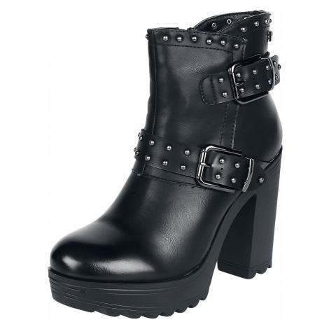 Refresh - High Mountain Black - High Heels - black