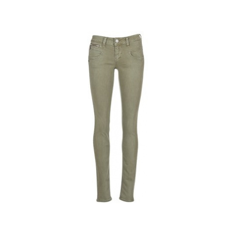 Freeman T.Porter ALEXA MAGIC COLOR women's Skinny Jeans in Kaki Freeman T. Porter