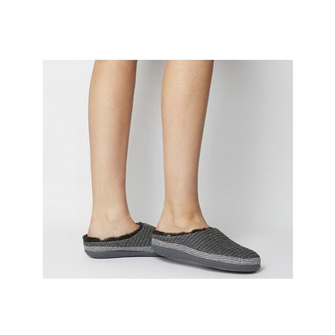 Toms Ivy Slipper FORGED IRON GREY KNIT