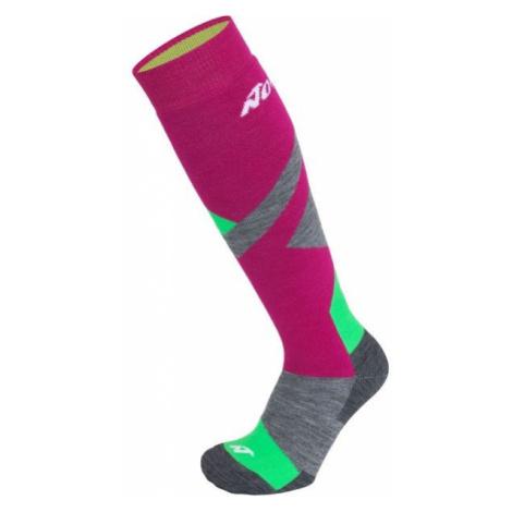 Nordica MULTISPORT pink - Children's ski socks