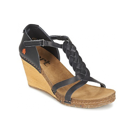Art VALBY women's Sandals in Black