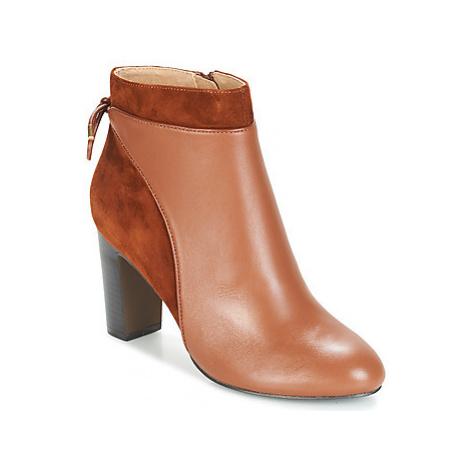 Jonak BEAR women's Low Ankle Boots in Brown
