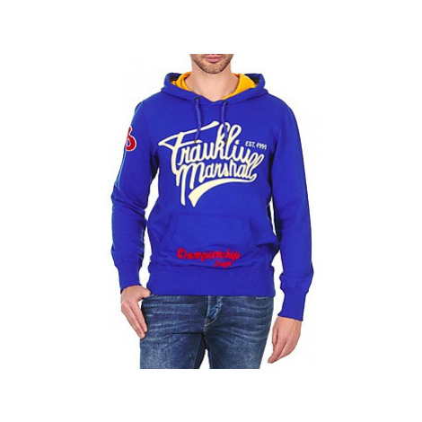 Franklin Marshall SUNBURY men's Sweatshirt in Blue Franklin & Marshall