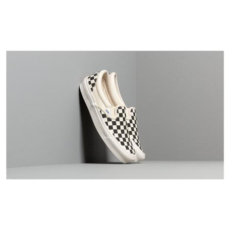Vans OG Classic Slip-On LX (Canvas) Black/ White Checkerboard