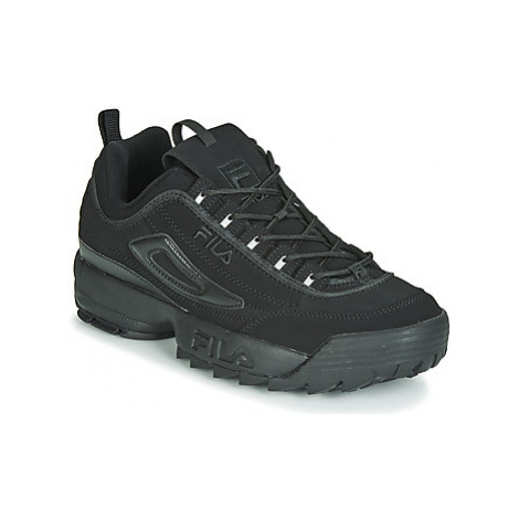 Fila DISRUPTOR II men's Shoes (Trainers) in Black