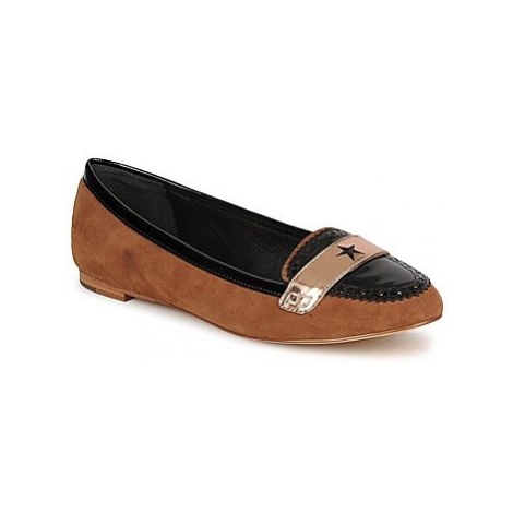 C.Petula KING women's Loafers / Casual Shoes in Brown