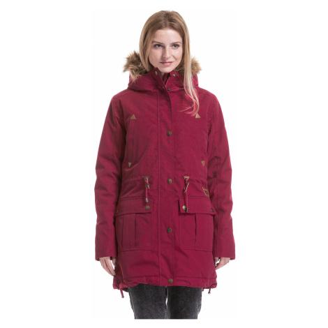 jacket Meatfly Rainy 3 - B/Raspberry Wine - women´s