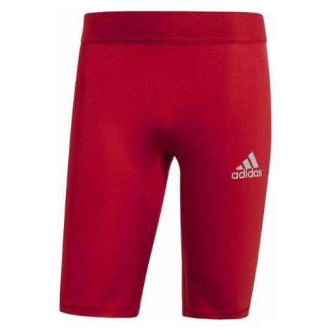 adidas ALPHASKIN SPORT SHORT TIGHTS M red - Men's underwear